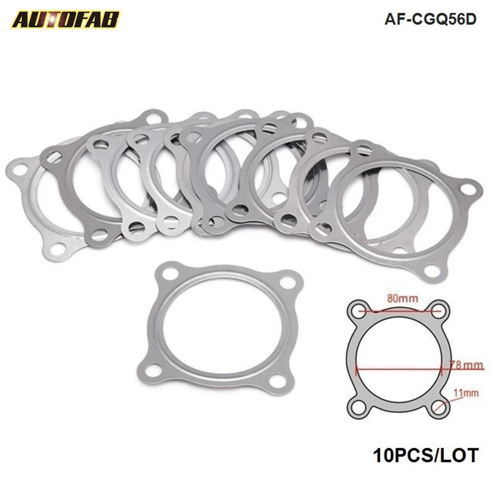 Lote de 10 unids/lote de juntas de tubo de escape Turbo para Skoda Octavia, para VW Bora, para VW Golf IV AF-CGQ56D