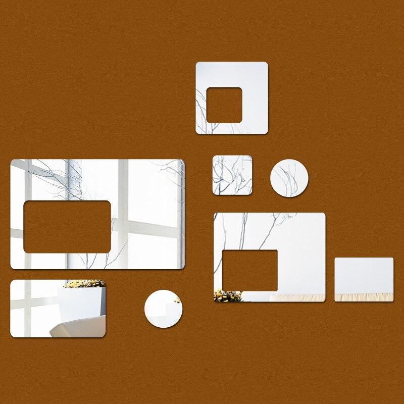 Nuevo Adhesivo de pared diy para habitación de niños, pegatinas de espejo...