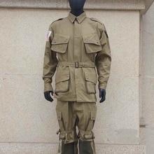 U. S. WW2 WWII ARMEE SOLIDER M42 MILITARY FALLSCHIRMJÄGER UNIFORM KAMPF AMERIKANISCHEN-Welt military Shop