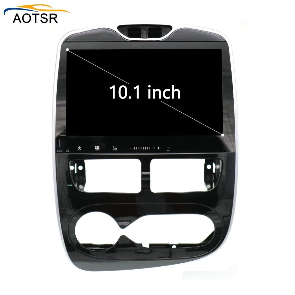 Android 8,0 4GB + 8 Core + 32GB Unidad de cabeza para Renault Clio 2013, 2014, 2015, 2016, 2017 reproductor de DVD del coche Radio Estéreo mapa GPS wifi BT
