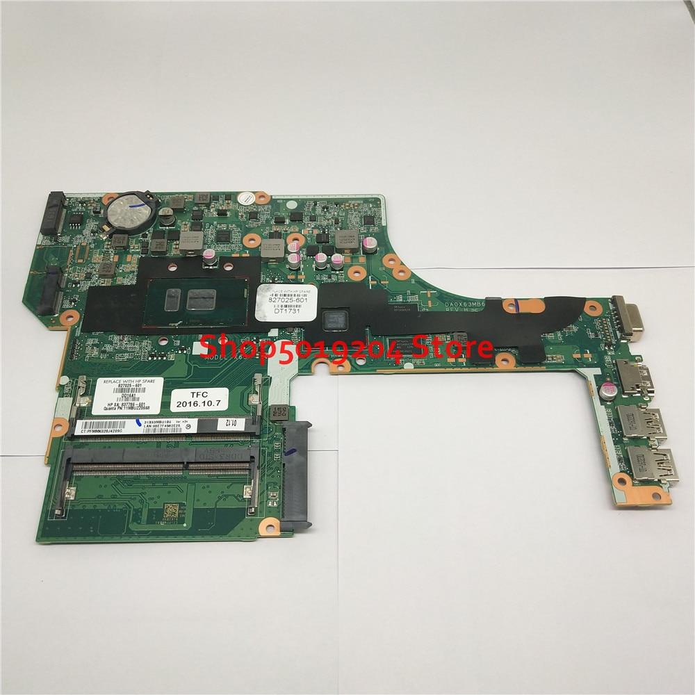 Новая материнская плата 827025-601 837786-601 для ноутбука HP ProbBook 450 G3 DA0X63MB6H1 I5-6200U 827025-001 827025-501