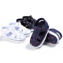 3 Arten Kleinkind Kinder Anker Jungen Mädchen 2018 Sommer Säuglingskrippe Schuhe Prewalker 0-18 Monate