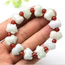 Bonne chance style de personnalité pur manuel tissage cochon perles bracelet charme hommes et femmes style