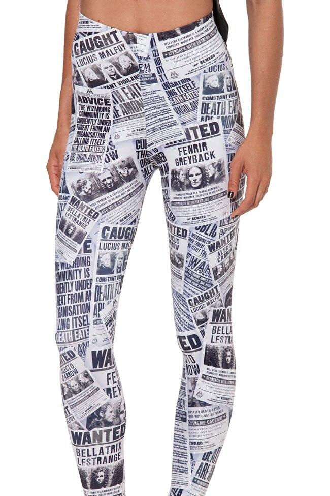 Модные женские леггинсы с рисунком галактики и роспись журнал Капри высокие эластичные женские брюки, брюки для детей Бесплатная доставка