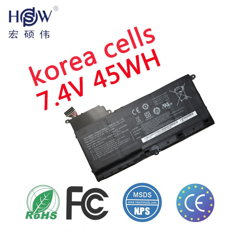 HSW ноутбука Батарея для samsung AA-PBYN8AB tablet Батарея для ноутбука NP530U4B-A01US 530U4C 535U4C батареи BA43-00339A Батарея