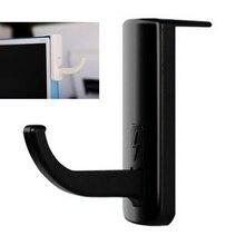 1 PC Neue Headset Stand Halter Rack Universal Kopfhörer Kleiderbügel Stand Haken Wand Haken PC Monitor Display Stand