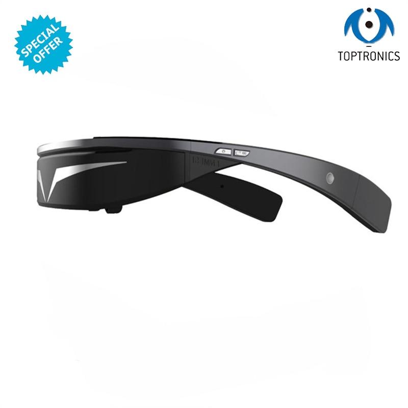 Gafas de vídeo Toptronics 3D de moda con 1G + ROM 16G WIFI, gafas de vídeo, batería de 1800 mAh, los mejores regalos para niños de negocios