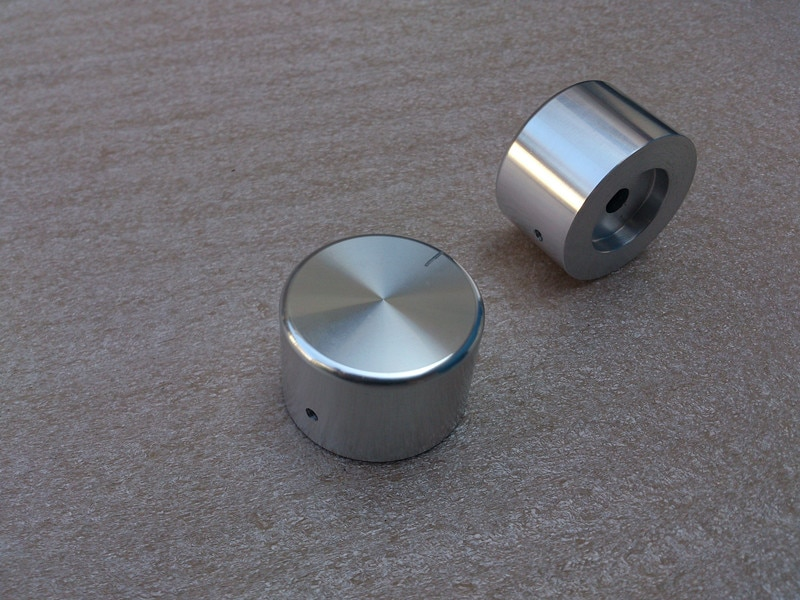 Ручка из алюминиевого сплава, вращаемая Кнопка потенциометра громкости, Hi-Fi стерео регулятор для усилителя потенциометра, бесплатная доставка, 35*22 мм