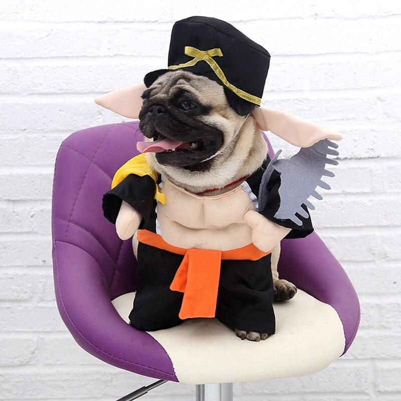 Todas as estações novidade cão de estimação engraçado maquiagem roupas com chapéu gato cão cosplay piggy filhote de cachorro casaco festa vestido traje