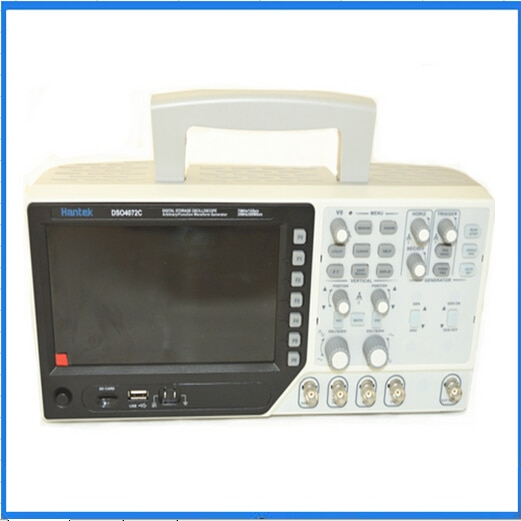 H205 Hantek DSO4072C 2 canales osciloscopio Digital 1 canal generador de onda arbitraria/función 70MHz 40K 1GS/s