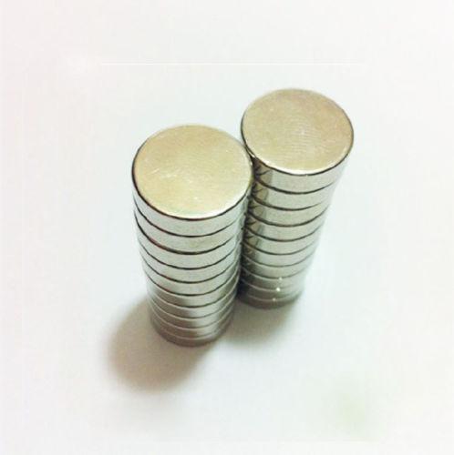 Disco magnético redondo de ferrita de 3mm de grosor y 5mm de diámetro para manualidades de recuerdo, 10 Uds.