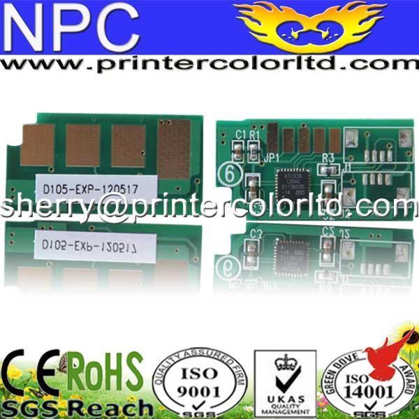 Mlt105) chip de cartucho toner para samsung sf650p/1910/1915/2525/2580/4600/4606/4623 MLT-D105 mlt-105 mlt d105 105 bk recarga chip