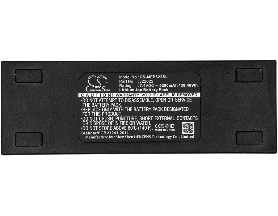 Portátil do pa do Freeplay J22622 para Mackie Cameron Sino Bateria Freeplay Sistema 5200mah