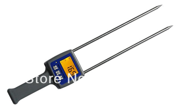 3Pcs/Lot pecialized Digital  Grain Moisture Meter tester for Barley Corn Rice Wheat TK100G hygrometer