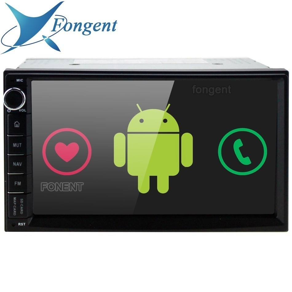 "Fongent 7 ""Universal Octa Core 2Din coche Android 9,0 Radio reproductor Multimedia PX5 4G RAM 32G ROM GPS navegación pantalla IPS TDA 7850"