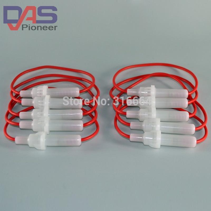 100 шт. автомобильный Автомобильный держатель предохранителей винтовой тип провода 5x20 мм Встроенный держатель предохранителя для стеклянно...