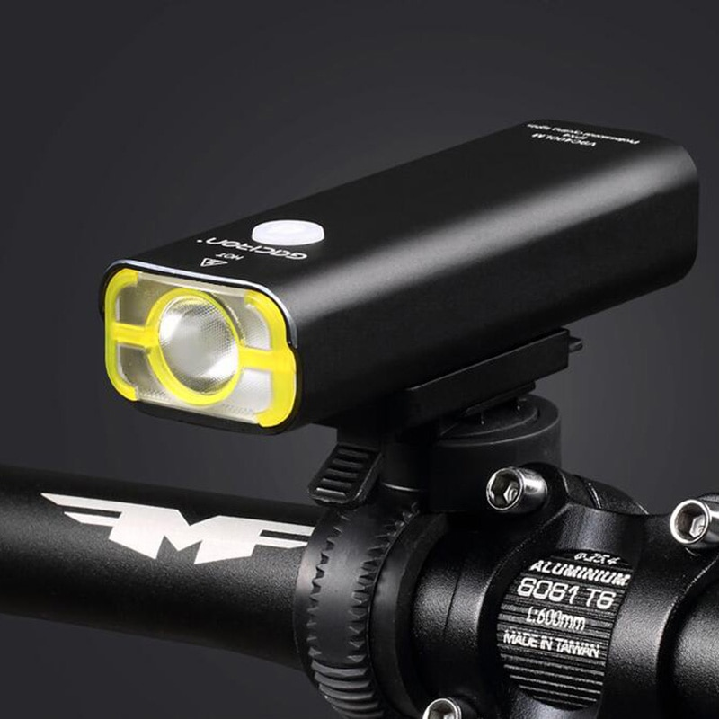 Gaciron v9c luz da bicicleta luz led XPG-2 lâmpada frontal usb recarregável biking bisiklet aksesuar