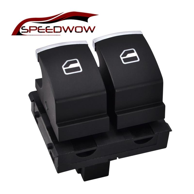 Кнопка управления окном SPEEDWOW для VW Eos Golf MK5 MK6 GTI 2 двери Scirocco Tiguan Polo 5K3 959 857/5K3 959 857 A B