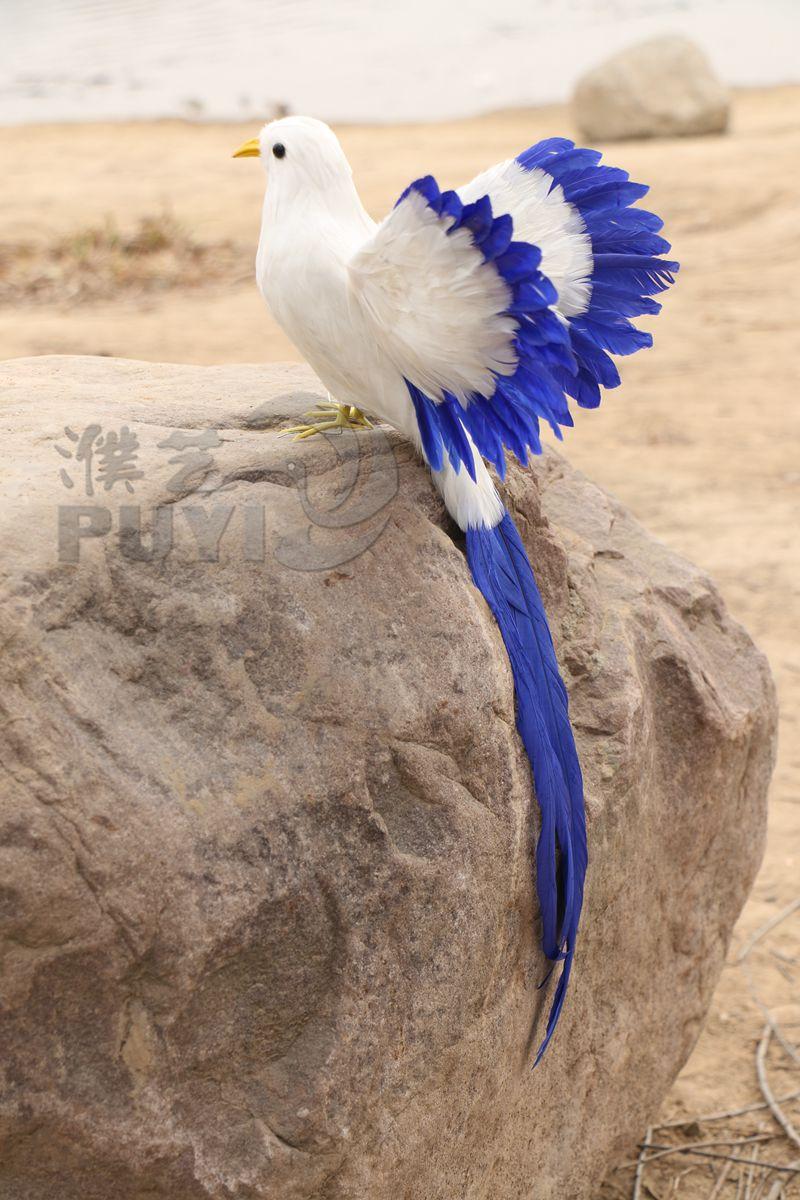 Aves de imitación alrededor de 43 cm, juguete modelo de pájaro speading wings, artesanía de Resina de polietileno, accesorios, decoración del hogar a1761
