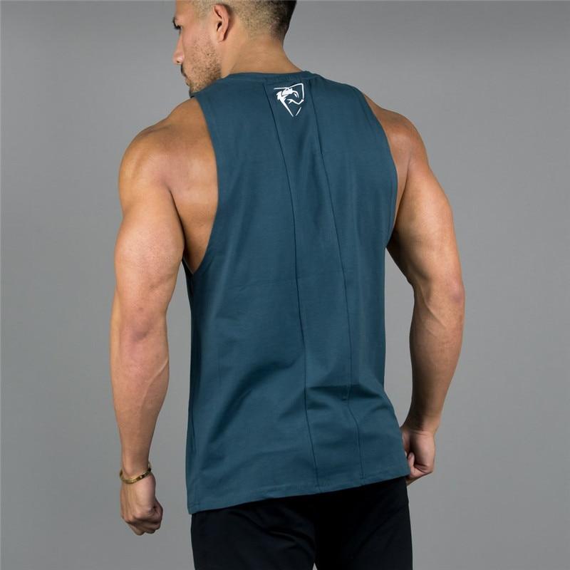 Camiseta deportiva sin mangas de verano 2019 para hombre, ropa de moda para hombre, camisetas sin mangas transpirables para hombre, Tops