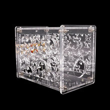 1PC amplificateur châssis boîtier Transparent acrylique boîtier boîtier pour FU32 vide Tube amplificateur préampli Vintage Audio bricolage projet