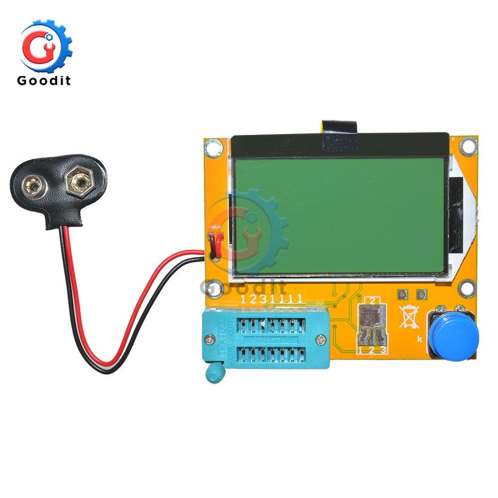Mega328 LCR-T4 Transistor Tester Diode Triode Capacitance LCR ESR Meter Module MOS PNP/NPN M328 ESR SCR MOSFET Multimeter