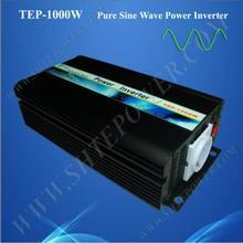 High quality dc 12v 24v 48v 1000w true sine wave inverter for 240v country
