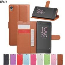 Telefon Fall Für Sony Xperia XA/XA Dual F3111 F3113 F3112 F3115 Flip Brieftasche Leder Abdeckung Telefon Fall Capa coque Karte Slot Fundas