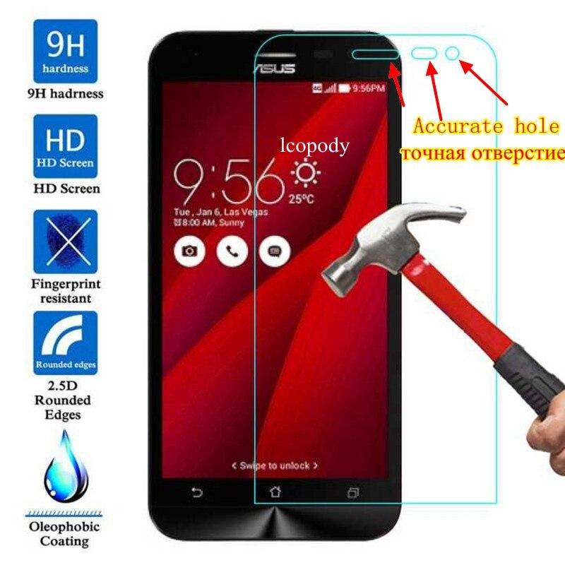 Vidrio Templado Premium para ASUS Zenfone 2 Laser ZE500KL película protectora de pantalla para asus 2lasaer ze 500 kl 500kl 5,0 pulgadas sklo glas