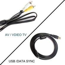 USB et AV CÂBLE TV Pour Sony DSC-W650 DSC-W670 DSC-W690 DSC-W710 DSC-W730 DSC-W800 DSC-W810 DSC-W830