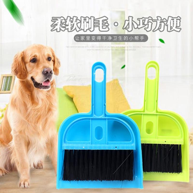 Tragbare Mini Scoop Set Pooper Scooper Sauber Haustier Hund Katze Abfall Besen + Scoop Poop Kehrmaschine Schaufel Reinigung Pinsel