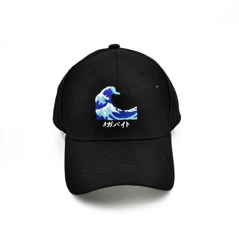 Дизайнерские шапки для мужчин и женщин, бейсболка с морской волной, высококачественные модные шапки унисекс для папы, новые спортивные шапк...