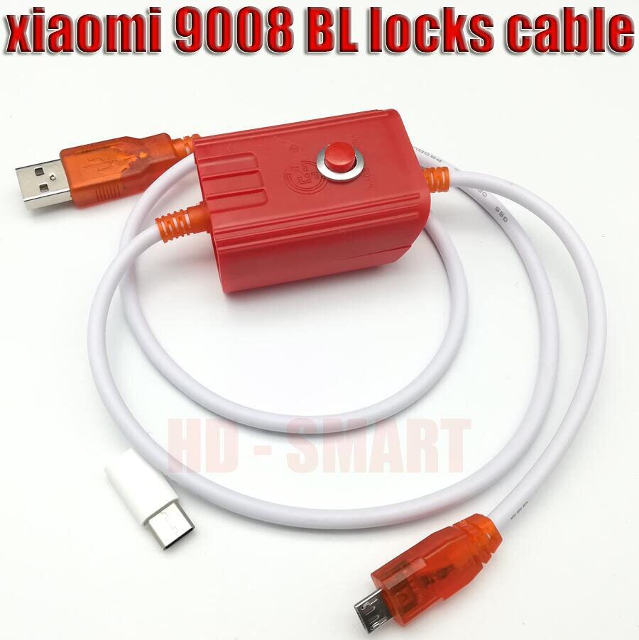 Бесплатный адаптер + глубокий флеш-кабель для Xiaomi Redmi phone с открытым портом 9008 поддерживает все BL замки EDL кабель + трек NO