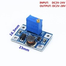 1 stücke Smart Elektronik DC-DC SX1308 Step-UP Einstellbare Power Module Step Up Boost Converter 2-24V zu 2-28V 2A