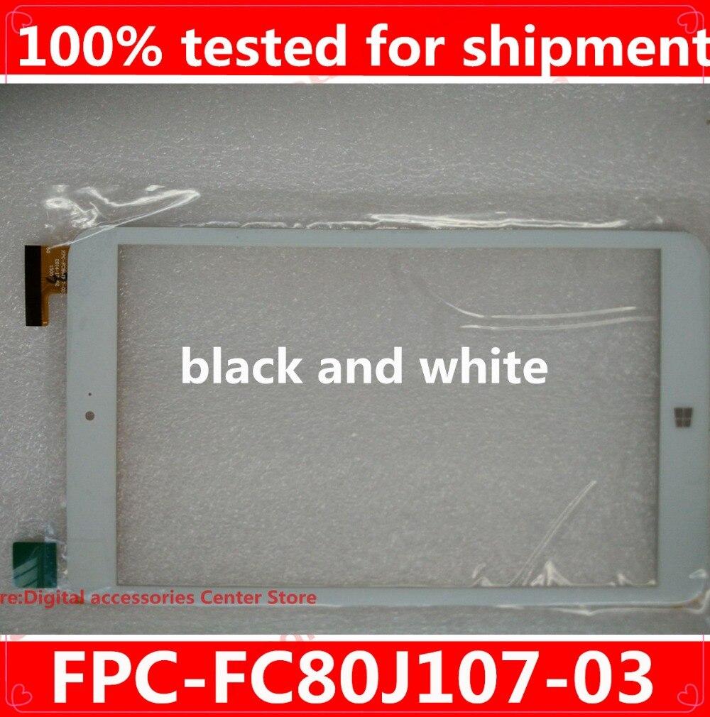 """Nueva pantalla táctil para 8 """"Onda V820W Wins Chuwi Vi8 Tablet FPC-FC80J107-03 Panel digitalizador Sensor de vidrio reemplazo"""