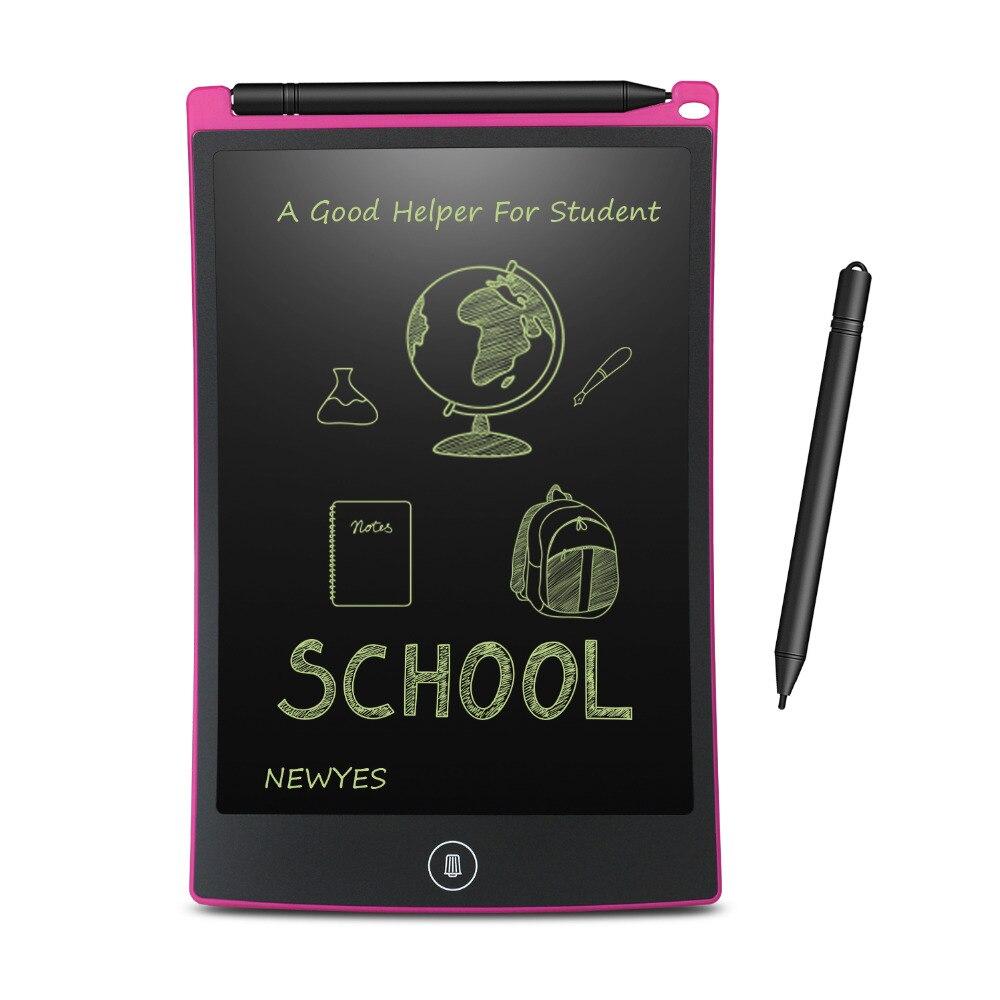 NEWYES 8.5 אינץ LCD כתיבת לוח דיגיטלי ציור לוח כתב יד רפידות נייד אלקטרוני לוח לוח דק לוח