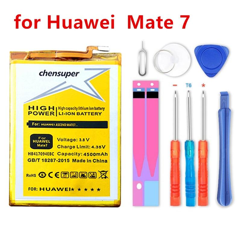 Chensuper NOUVEAU 4500 mAh HB417094EBC Batterie pour Huawei Ascend Mate 7 MT7 TL00 TL10 UL00 CL00