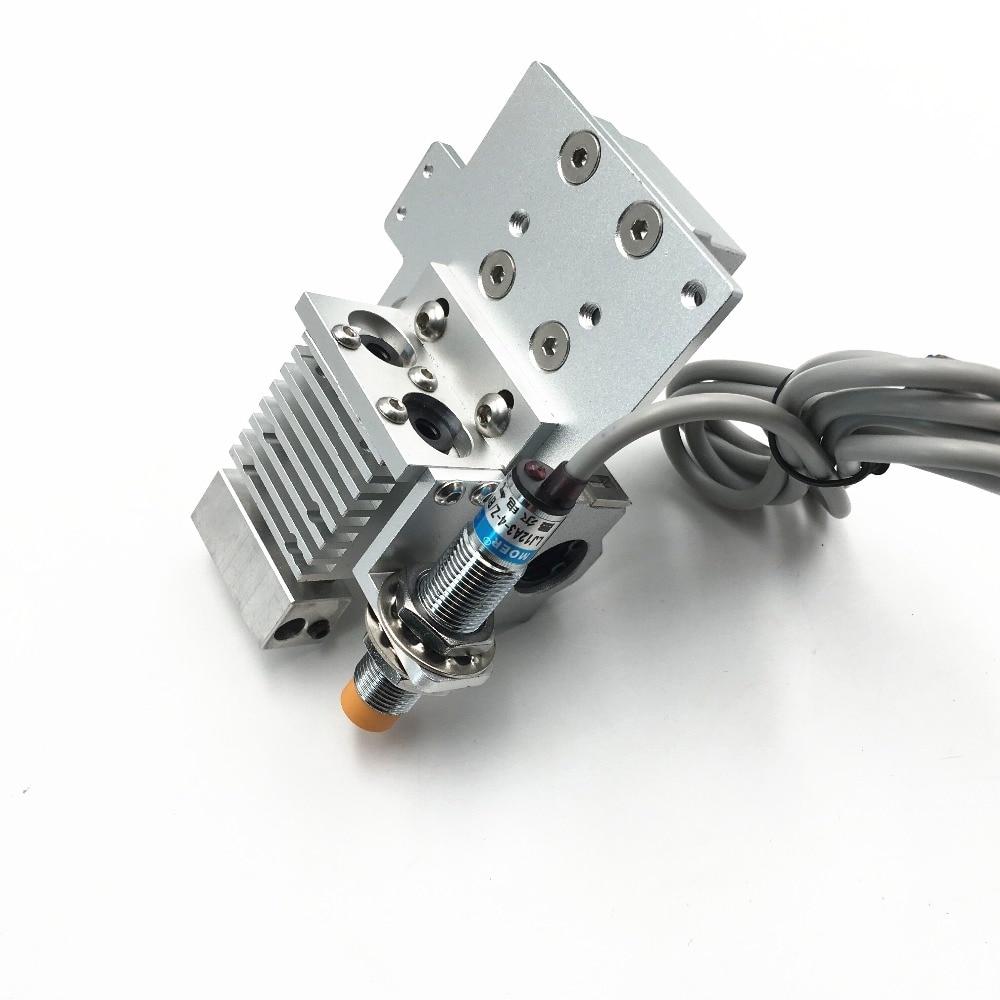 Funssor Reprap Prusa i3 Chimera/Cyclops Bowden X-carriage mount hotend kit Индуктивный датчик Авто-Выравнивающий зонд 1,75 мм