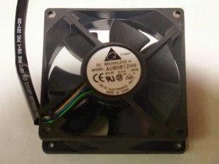 Delta 8025 8 Cm 0.41A PWMIntelligent control de temperatura chasis ventilador de refrigeración AUB0812VH-