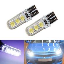 2x T10 W5W 168 194 SMD Error Free Parking Light Bulbs Clearance Lights For Opel Astra h j g Corsa Zafira Insignia Vectra b c d