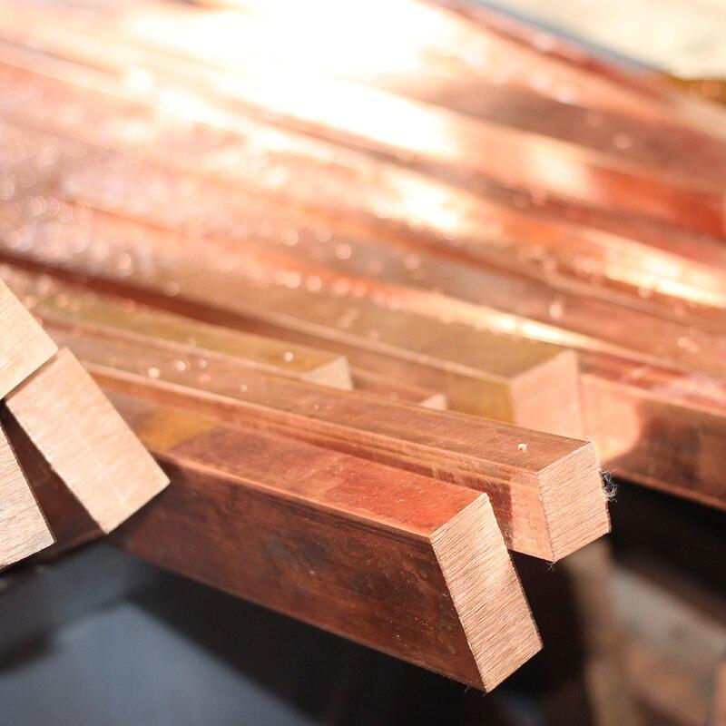 1 unids/lote YT1365B fila de cobre 5*40*100mm barra de cobre envío gratis barra de cobre T2 bloque de cobre TMY DIY