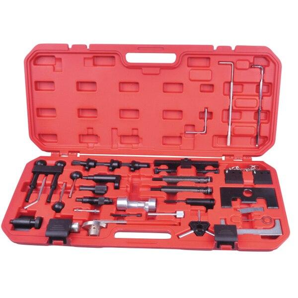 Herramienta de reparación de motor diésel de gasolina, Kit de herramientas de sincronización de motor para VW Audi A4 A6 A8 A11