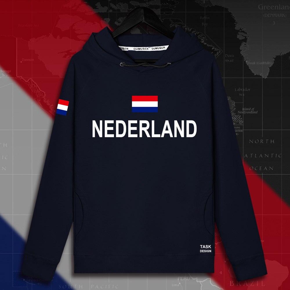 Hollanda Düşük Ülke Hollanda Hollandalı NLD erkek hoodie kazak hoodies erkekler kazak ince yeni streetwear giyim formaları