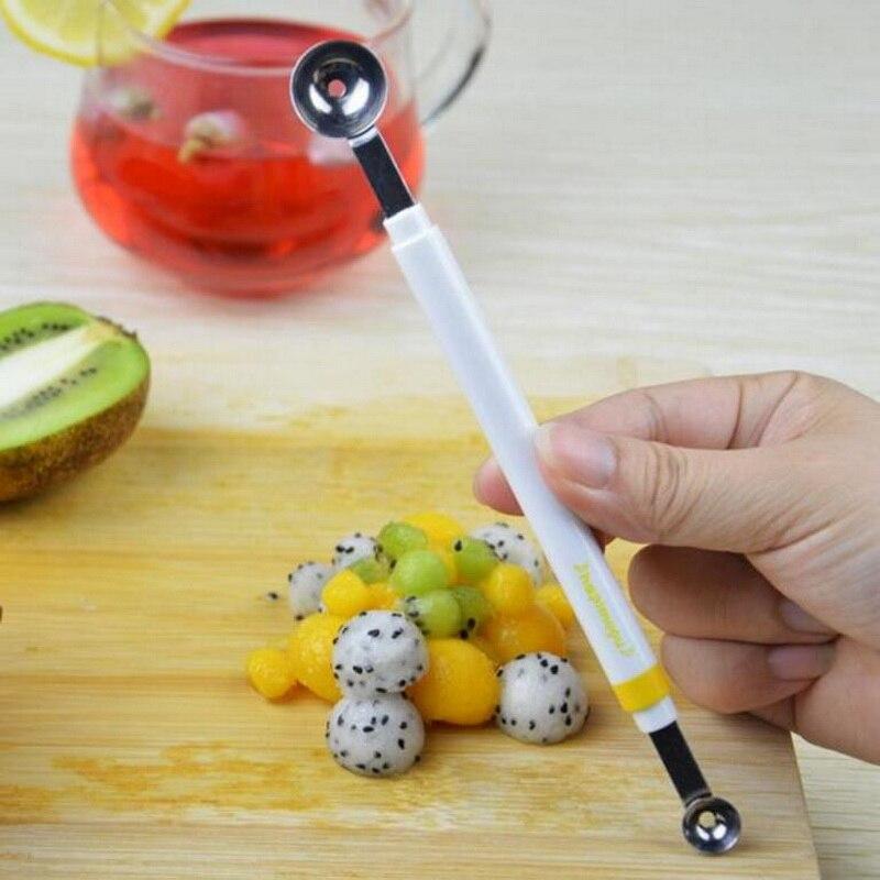 Alimentos e frutas digger ferramentas de cozinha molecular alimentos frutas bola fabricante decoração ferramenta super mini ball digger