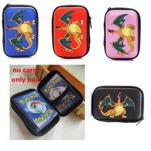 100 Capacity Cards Holder Album Notebook Hard Case Card Holder For Pokemon Charizard Magic Yugioh Board Game Cards Book Holder