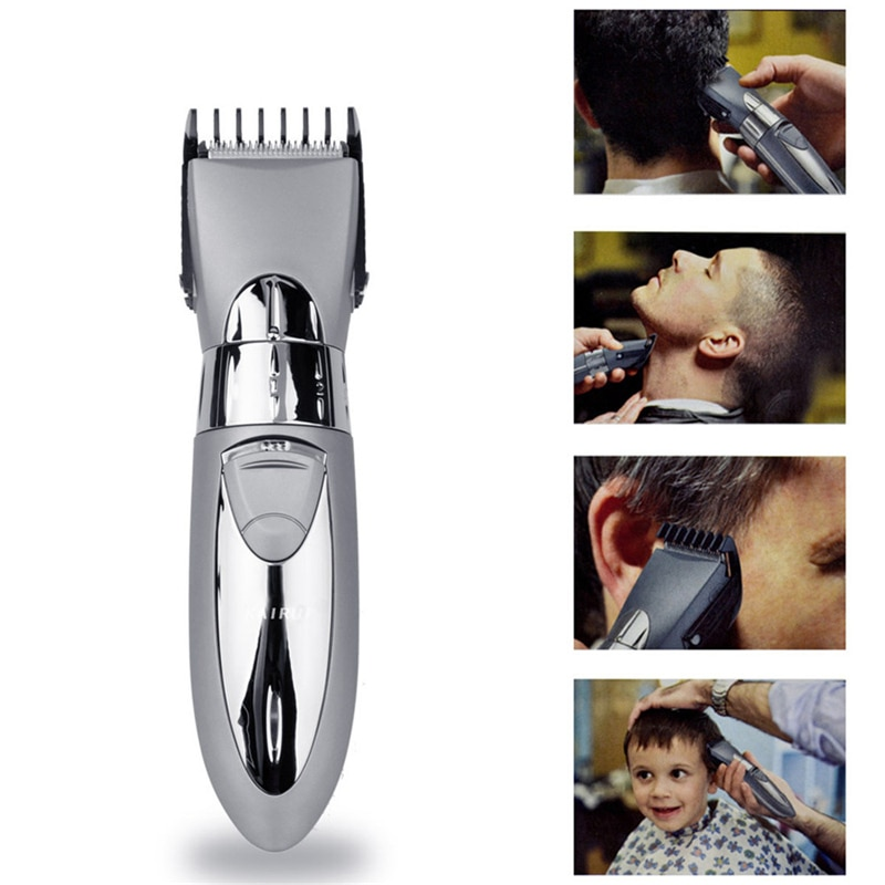 Professional Electric Hair Clipper Rechargeable Hair Trimmer Hair Cutting Machine To Haircut Beard Trimer Waterproof P34 enlarge