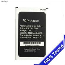 Batterie Pour Prestigio Wize D3 E3 K3 PSP3509 DUO PSP 3509 1800 mah Batterie Bateria