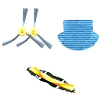 b6009 original accessories combination of a pair of side brush a roller brush a rag