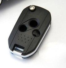 Coque de clé modifiée pour Subaru Forester XV   Boîtier Outback 3 boutons de clé de voiture, coque