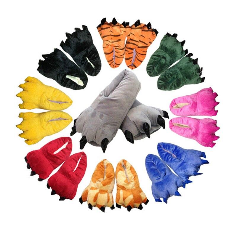 Animal Cosplay Paws Zapatillas Zapatos para adultos o niños Unisex disfraces de Halloween